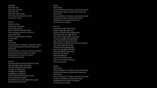 Out Here  - The Weeknd  [LYRICS]