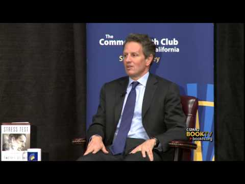 "Book TV: Timothy Geithner, ""Stress Test: Reflections on Financial Crises"