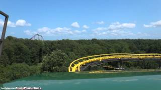 Loch Ness Monster (On-Ride) Busch Gardens Williamsburg