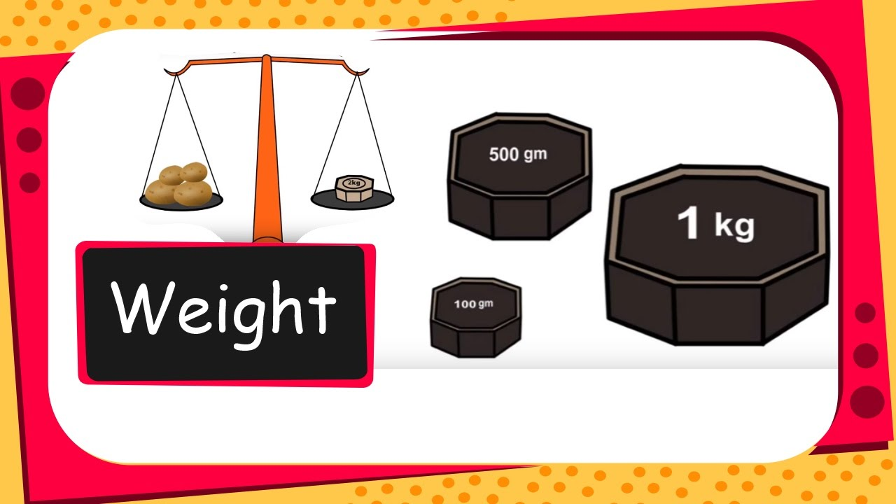 maths measurement weight english