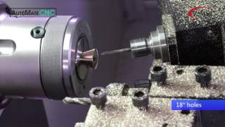 Making Parts on a Gang Tool Lathe with Live Tooling - AutoMateCNC FL300