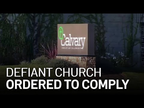 Judge Orders San Jose Church to Comply With County's Coronavirus Health Orders