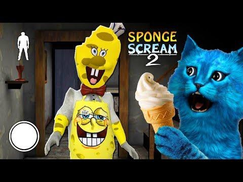 👀 МОРОЖЕНЩИК это СПАНЧБОБ 👀 ICE SCREAM 2 SpongeBob MOD ДЕЛАЮ концовку Против ПРОДАВЦА МОРОЖЕННОГО