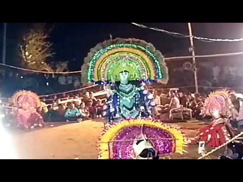 DANCE OF LORD SRI KRISHNA IN CHHOU PURULIA...
