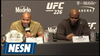 Derrick Lewis throws MASSIVE shade at Daniel Cormier at UFC 226 presser