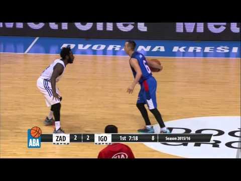 Full: Zadar - Igokea [ABA – Round 12] [30/11/2015]