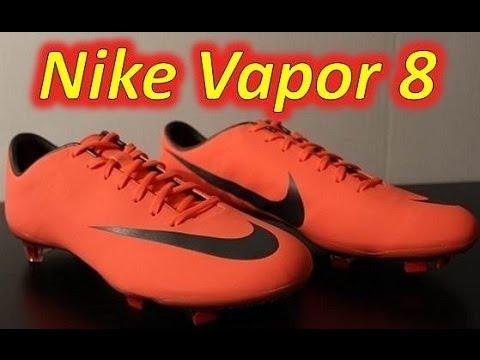 Nike Mercurial Vapor VIII FG Bright Mango/Metallic Dark ...