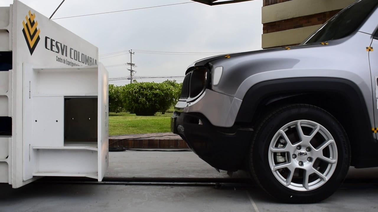 Ensayo de impacto Jeep Renegade AT Sport - 2020