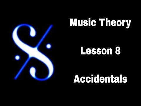 Grade 1 Music Theory - Accidentals - legacy version of video