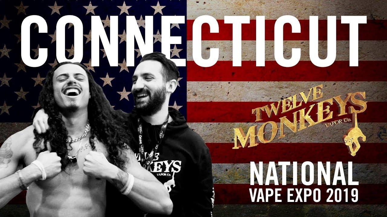 NVE Connecticut 2019 (Part 1) - 12 Monkeys Vapor Co  Vlog