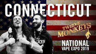 NVE Connecticut 2019 (Part 1) - 12 Monkeys Vapor Co. Vlog