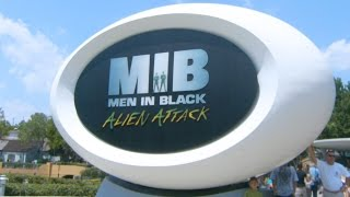 Universal Studios Men in Black: The Ride POV Alien Attack! Orlando Florida