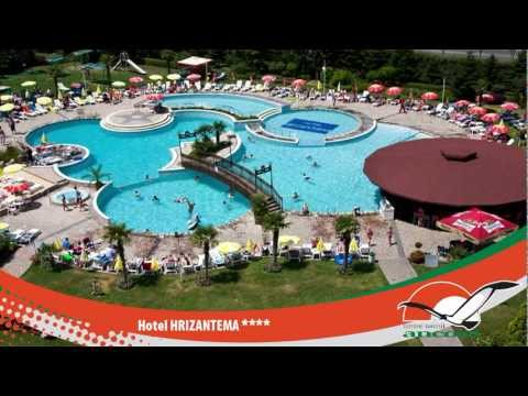 Hotel HRIZANTEMA - SUNNY BEACH - BULGARIA from YouTube · High Definition · Duration:  1 minutes 53 seconds  · 23 000+ views · uploaded on 08/01/2013 · uploaded by ckancora