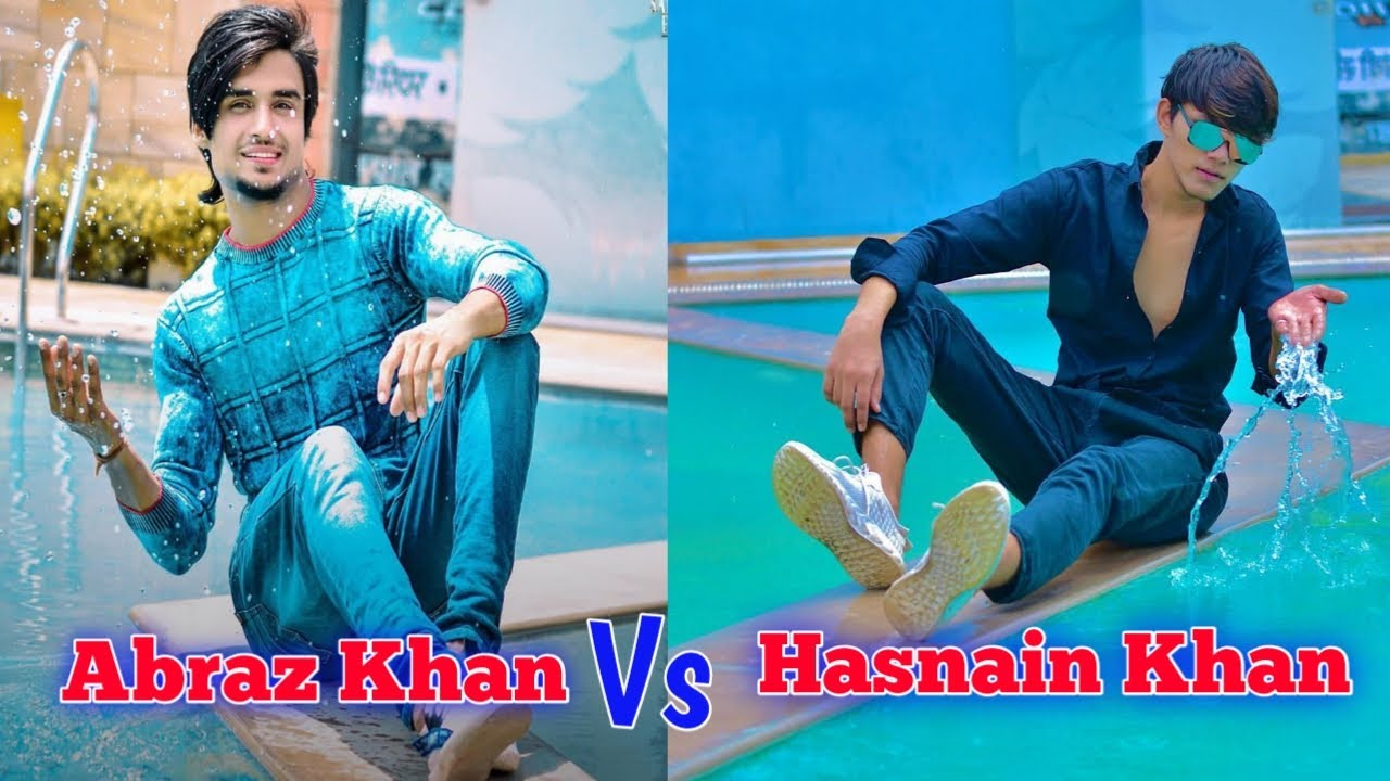 Abraz Khan Best TikTok Videos With Hasnain Khan | Abraz Khan TikTok Viral Video with Joker | TikTok