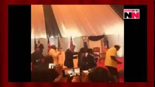 video us president dances to sauti sol s sura yako
