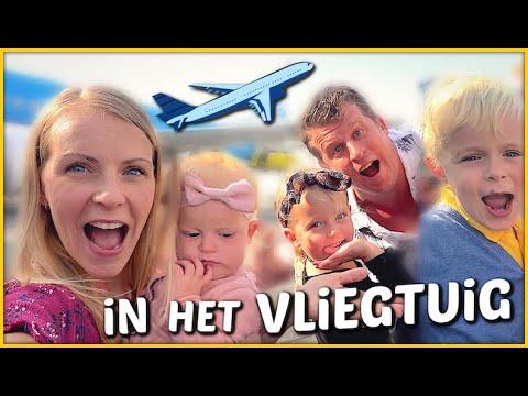 WAAR VLiEGEN WE NAAR TOE?  ✈ ( zomervakantie 2019)   Bellinga Familie Vloggers #1437