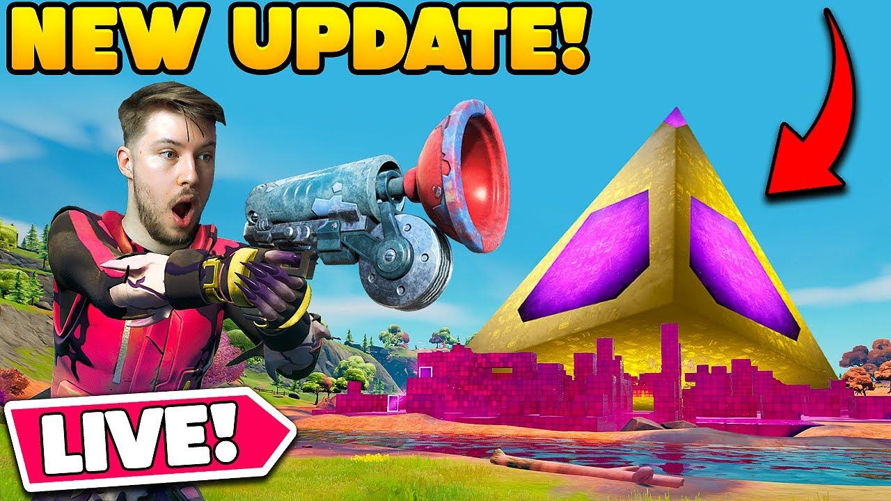Download *UNLOCKING THE CUBE QUEEN* LIVE + New Fortnite Update!!  w/ JoeFL96