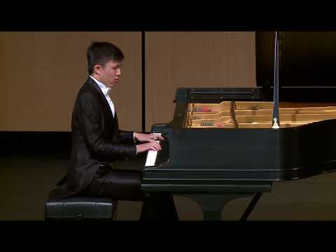 Jiang Jie Fei plays Mozart Piano Sonata No.11 Mov.II with Mason & Hamlin CC-1