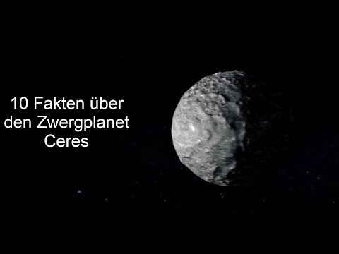 10 Fakten über den Zwergplanet Ceres