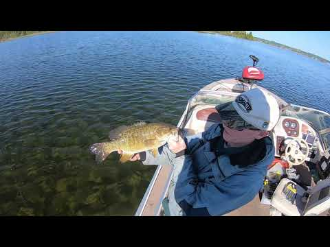 Grand Traverse Bay Smallmouth Bass Fishing (Using  A Drone To Locate Fish)
