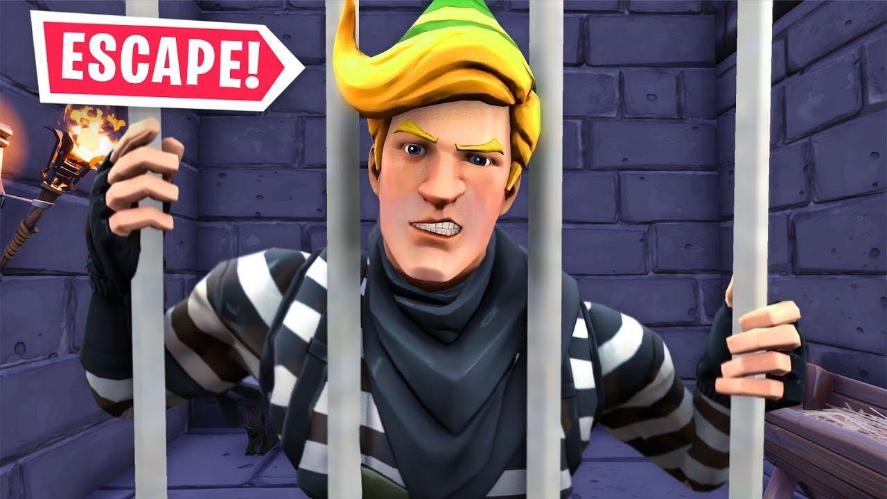 i got locked up in fortnite prison prison break - fortnite jailbreak bypass season 8