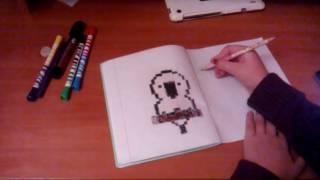Видео урок (как нарисовать бантик)