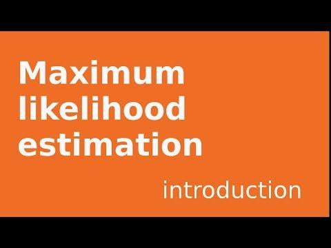 Maximum likelihood estimation  Poisson, exponential examples