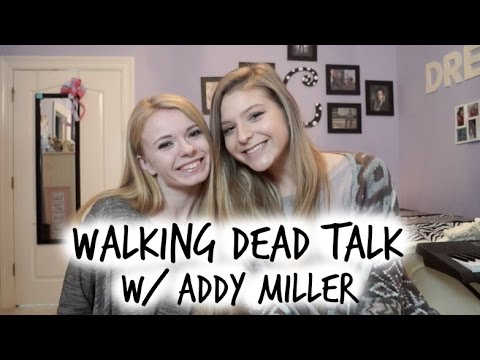ZOMBIE TALK WITH THE WALKING DEAD'S ADDY MILLER Caroline Dare