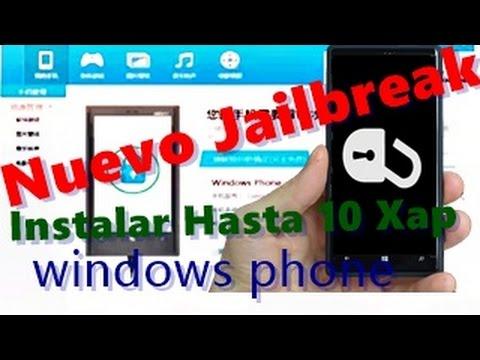 Como hacer el jailbreak para Windows Phone 8/8.1 [En español 2014] podrás instalar hasta 10 xap