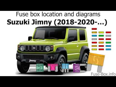 suzuki ignis fuse box fuse box location and diagrams suzuki jimny  2018 2020     youtube  fuse box location and diagrams suzuki