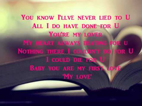 Tony Parker - Premier Love(Lyrics In English)