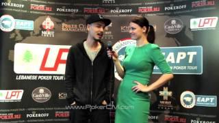 Eurasian Poker Tour, Киев. Интервью с Дэвидом 'Chino' Римом(Международный турнир по покеру