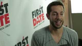 Zachary Levi, Krysta Rodriguez and ''First Date Cast'' - Q&A