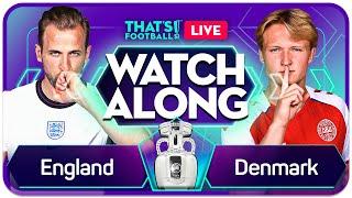 ENGLAND vs DENMARK EURO 202O Watchalong Mark GOLDBRIDGE LIVE