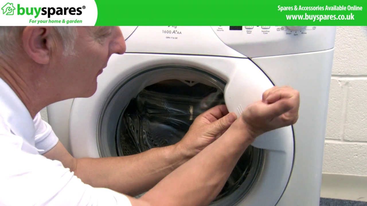 How to open a washing machine 43