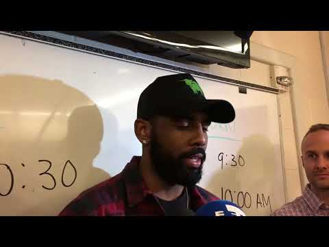 Kyrie Irving Postgame Interview / Celtics vs Rockets