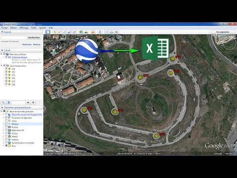 how-to-export-utm-coordinate-of-a-set-of-points-from-google-earth-to-excel