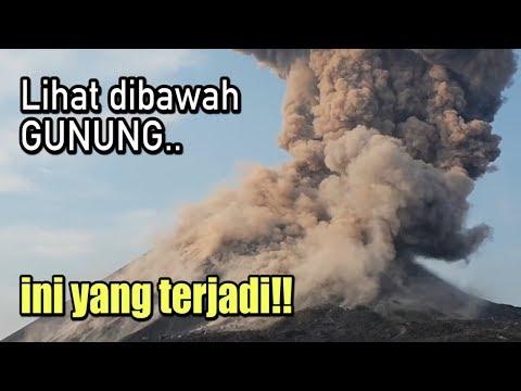 TERNYATA! kok bisa ada sesuatu dibawah gunung Krakatau