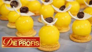 50 Mini-Kuchen: Alles muss aus Mango sein! | (2/2) | Das große Backen – Die Profis | SAT.1