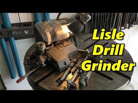 Shop Talk 22: Lisle Drill Grinder