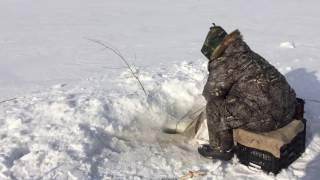 Рибалка мережами у Красноярському море