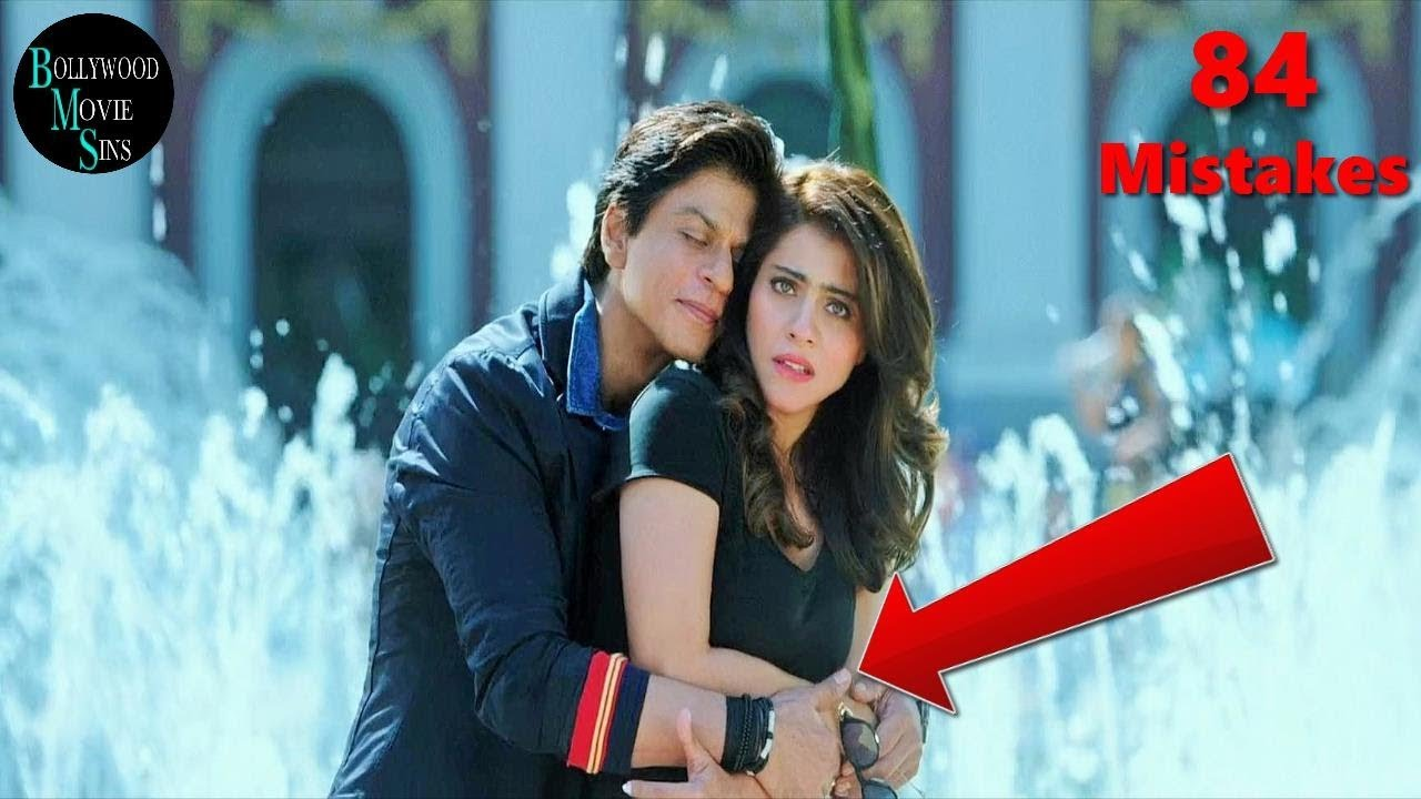 Eww Dilwale Full Movie 84 Mistakes Funny Mistakes Shah Rukh