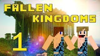 Fallen Kingdoms 2 : Siphano & Xef | Jour 1 - Minecraft