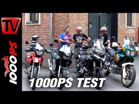 Honda XRV 750 Africatwin vs. Yamaha TDM. Gebrauchte Reiseenduros im Vergleich. Kampf der Legenden.