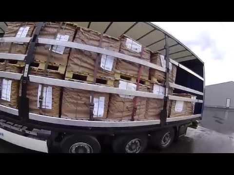 7.A kamionos.Tengelyenkénti súlyelosztás, árurögzítési alapok.1.rész.