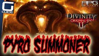 DIVINITY ORIGINAL SIN 2 - ULTIMATE PYRO SUMMONER AGGRESSIVE BUILD