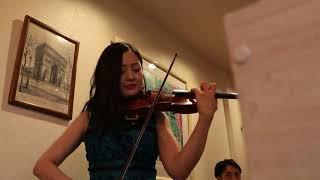 至近距離で聞くバイオリン生演奏、情熱大陸