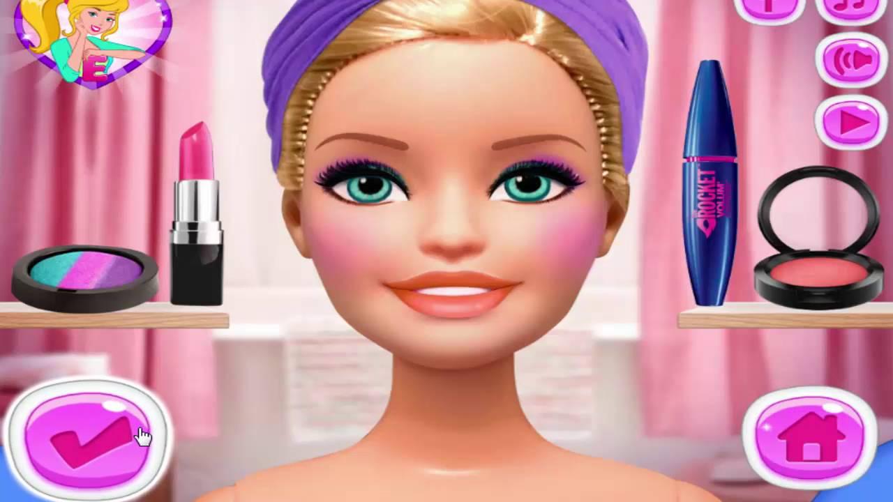 Gercek Barbie Oyunu Bahar Abla Youtube