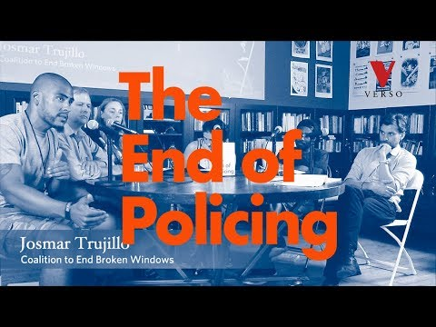 The End of Policing – book launch and discussion