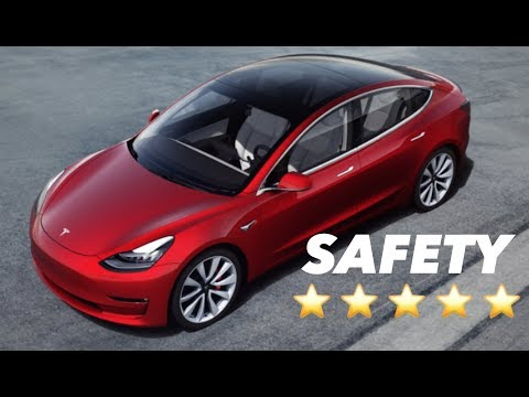 Model 3 = Safest Car Ever Tested By NHTSA ⭐⭐⭐⭐⭐